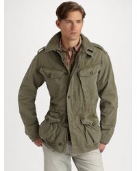 Polo Ralph Lauren | Green Jacket for Men | Lyst