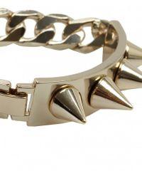 AllSaints - Metallic Daumier Bracelet - Lyst