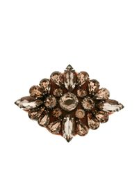 ASOS Collection | Brown Limited Edition Jewel Hair Brooch | Lyst