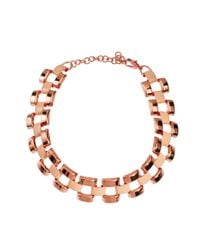 ASOS Collection - Metallic Limited Edition Link Choker Necklace - Lyst