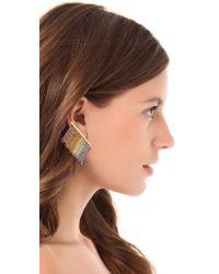 Gemma Redux - Multicolor Colorful Dangling Earrings - Lyst