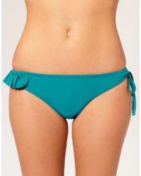 Mouille' | Green Mouillé Naomi Frill Bikini Brief | Lyst