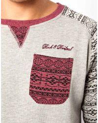 Rock Revival | Gray Sweatshirt for Men | Lyst