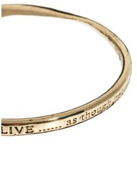 Sam Ubhi - Metallic Live Signature Bangle - Lyst