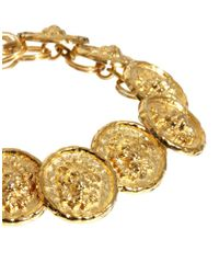 Sam Ubhi - Metallic Vintage Button Bracelet - Lyst