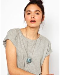 Sam Ubhi - Metallic Embellished Stoned Perfume Bottle Necklace - Lyst