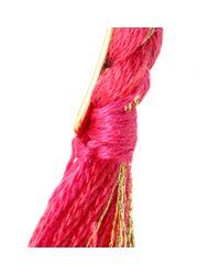 Aurelie Bidermann - Pink Mytheresacom Exclusive Copacabana Cuff Bracelet - Lyst