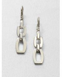 John Hardy | Metallic Sterling Silver Link Earrings | Lyst