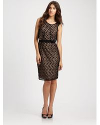 Marc By Marc Jacobs - Black Dahlia Solid Lace Dress - Lyst