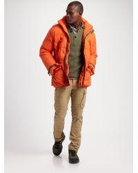 RLX Ralph Lauren - Orange Tenzing Down Parka for Men - Lyst