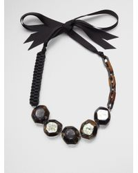 Weekend by Maxmara - Multicolor Beaded Necklace - Lyst