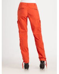 RLX Ralph Lauren - Orange Poplin Terrain Pants - Lyst
