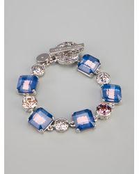Marc By Marc Jacobs - Metallic Jeweled Bracelet - Lyst