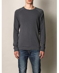American Vintage - Gray Muskegone Crewneck Sweatshirt for Men - Lyst