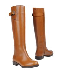 Chloé - Brown Boots - Lyst