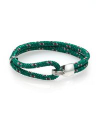 Miansai - Green Beacon Nautical Rope Bracelet - Lyst