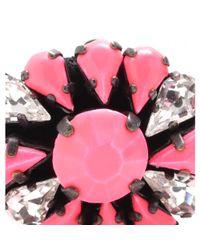 Shourouk | Pink Baraka Zoe Embellished Bracelet | Lyst
