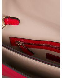 Valentino - Pink Rock Stud Clutch - Lyst