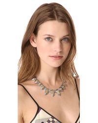 Madewell - Gray Stacked Statement Necklace - Lyst