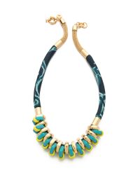 Marc By Marc Jacobs - Metallic Multi Woven Bolt Necklace - Lyst