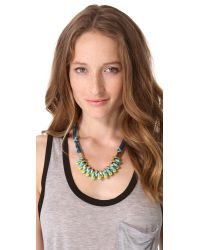 Marc By Marc Jacobs | Metallic Multi Woven Bolt Necklace | Lyst