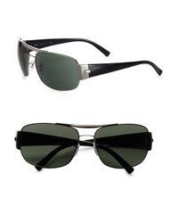 Ray-Ban - Black Double Bridge Square Sunglasses for Men - Lyst