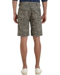 Save Khaki - Green Digital Camo Field Short for Men - Lyst