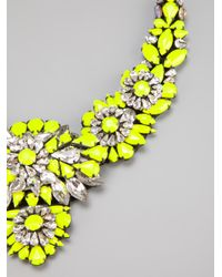 Shourouk | Yellow Apolonia Necklace | Lyst