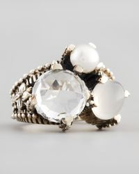 Stephen Dweck | Small White Stone Popcorn Ring | Lyst