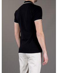 Dolce & Gabbana - Black Classic Polo Shirt for Men - Lyst