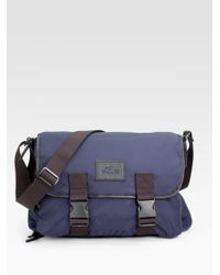 Lacoste | Blue Street Messenger Bag for Men | Lyst