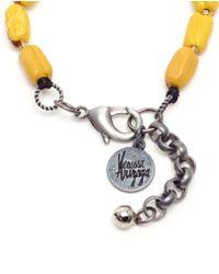 Venessa Arizaga - Orange Wiener Dog Bracelet - Lyst