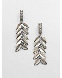 Giles & Brother - Metallic Victory Drop Earrings - Lyst