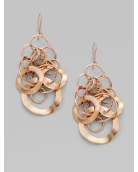 Ippolita - Metallic Rose Link Earrings - Lyst