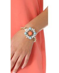 Anton Heunis - Orange Floral Cluster Bracelet - Lyst