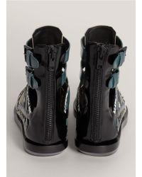 3.1 Phillip Lim - White 'pj' Gladiator Leather Sandals - Lyst