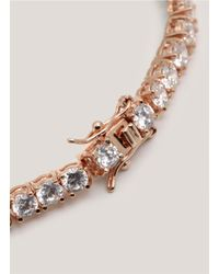 CZ by Kenneth Jay Lane | Pink Cubic Zirconia Bracelet | Lyst