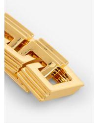 Eddie Borgo   Metallic Link Earrings   Lyst