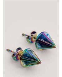 Eddie Borgo - Metallic Lotus Cone-stud Earrings - Lyst