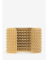 Ela Stone | Metallic Studded Brass Cuff | Lyst