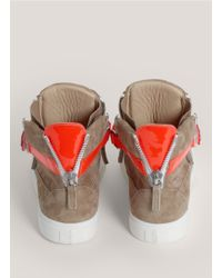 Giuseppe Zanotti - Natural London Suede Sneakers - Lyst