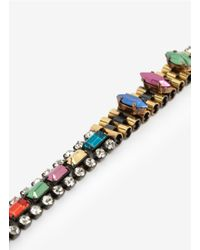 Iosselliani - Metallic Crystal and Bead Long Necklace - Lyst