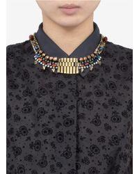 Iosselliani | Multicolor Multi-coloured Stone Chain Necklace | Lyst