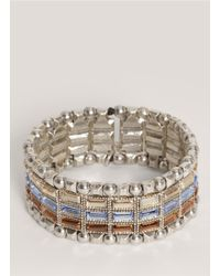 Philippe Audibert | Multicolor Three-row Stone Bracelet | Lyst