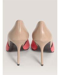 Pierre Hardy - Pink Side Cutout Peep-toe Pumps - Lyst