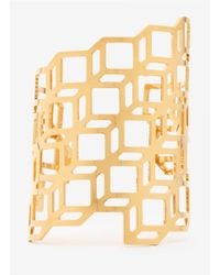Pierre Hardy | Metallic Gold-plated Cuff | Lyst
