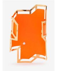 Pierre Hardy - Orange Neon Geometric Cuff - Lyst