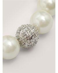 R.j. Graziano - White Pearl Bracelet - Lyst