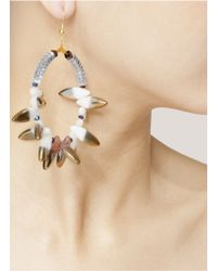 Scho - Blue Shalom Grand Earrings - Lyst