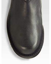 Stuart Weitzman | Black Troopzip Buckle Boots | Lyst
